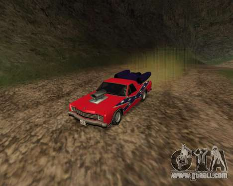 Rocket Picador GT for GTA San Andreas left view
