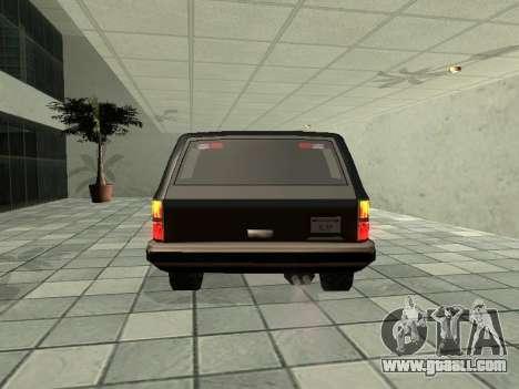 SWAT Original Cruiser for GTA San Andreas right view