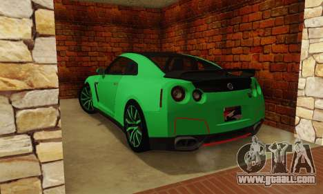 Nissan GTR Streets Edition for GTA San Andreas left view