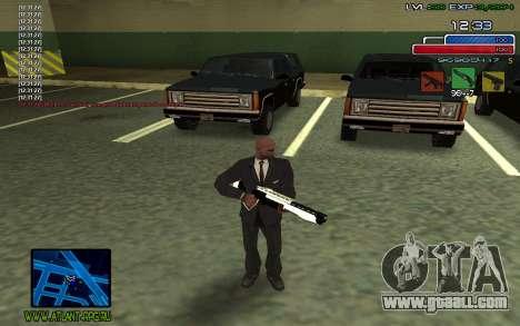 C-HUD SampHack for GTA San Andreas second screenshot