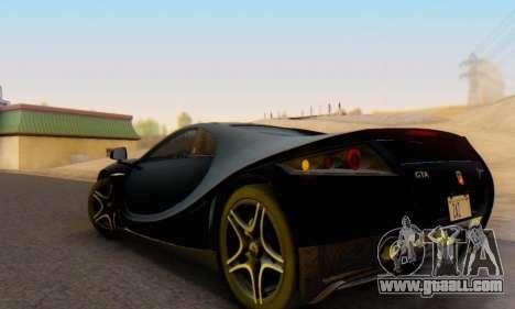 GTA Spano 2014 IVF for GTA San Andreas left view
