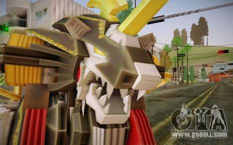 Energy Liger from Zoids for GTA San Andreas third screenshot