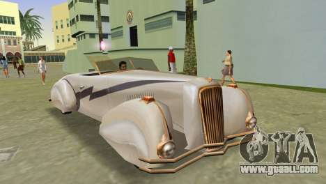 Cadillac Series 37-90 1937 V16 Cabriolet for GTA Vice City
