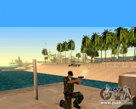 Glock из Cutscene for GTA San Andreas third screenshot