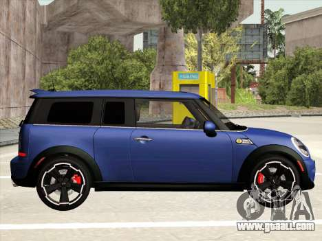Mini Cooper Clubman JCW for GTA San Andreas back left view