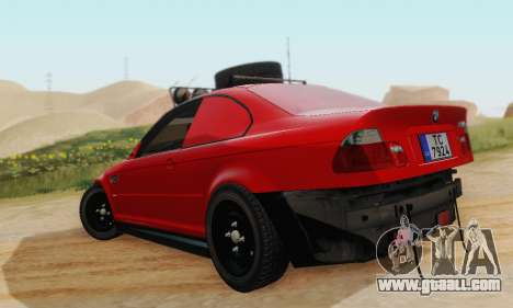BMW M3 E46 Offroad Version for GTA San Andreas right view
