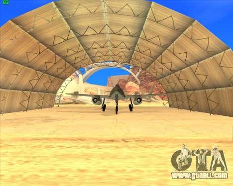 Messerschmitt Me.262 Schwalbe for GTA San Andreas left view