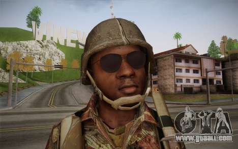 U.S. Soldier v1 for GTA San Andreas third screenshot