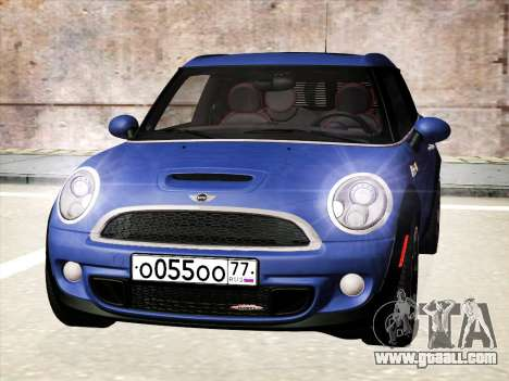 Mini Cooper Clubman JCW for GTA San Andreas left view