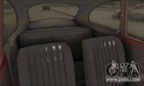 1973 Volkswagen Beetle for GTA San Andreas upper view