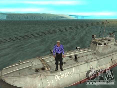 Torpedo boat type G-5 for GTA San Andreas