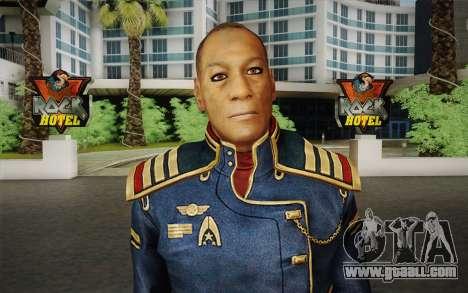 Captain David Anderson из Mass Effect series for GTA San Andreas third screenshot