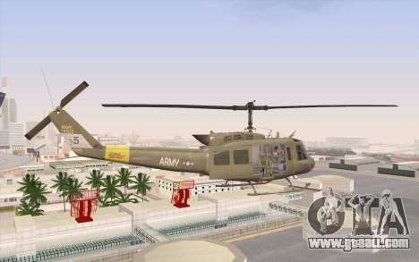 UH-1 Huey for GTA San Andreas left view