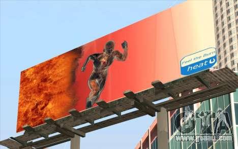 HQ Billiboards for GTA San Andreas second screenshot