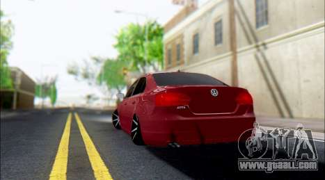 Volkswagen Jetta 1.4 МТ Comfortline for GTA San Andreas right view
