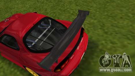 Mazda RX7 FD3S RE Amamiya Road Version for GTA Vice City right view