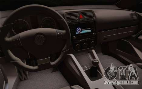 Volkswagen Scirocco for GTA San Andreas back left view