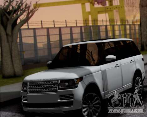 Range Rover Vogue 2014 for GTA San Andreas