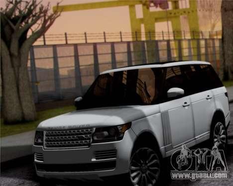 Range Rover Vogue 2014 for GTA San Andreas