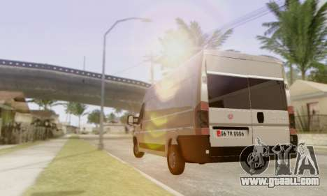 Fiat Ducato Ekip Otosu for GTA San Andreas right view