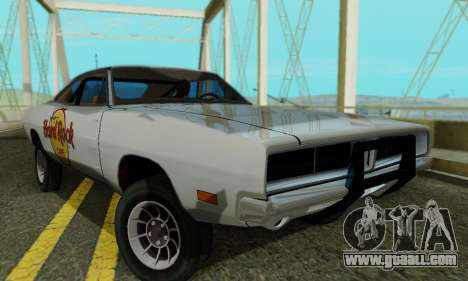 Dodge Charger 1969 Hard Rock Cafe for GTA San Andreas