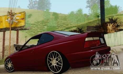 BMW 850CSI 1996 for GTA San Andreas interior