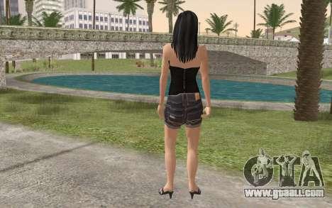 Casual Girl for GTA San Andreas second screenshot
