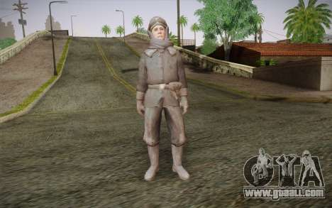 Friedrich Steiner из CoD: Black Ops for GTA San Andreas