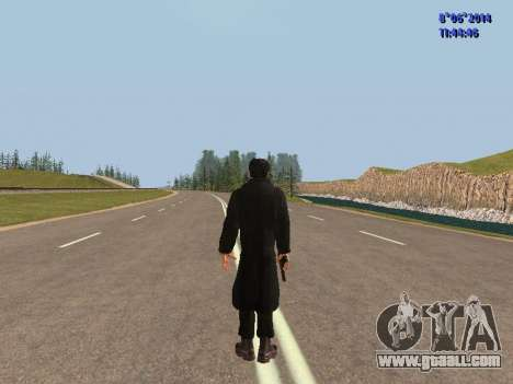 Danila from the movie Brother for GTA San Andreas forth screenshot