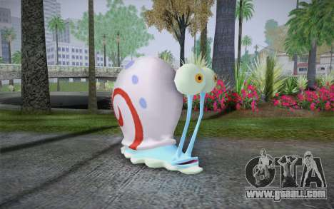 Gary (spongebob) for GTA San Andreas