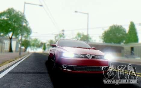 Volkswagen Jetta 1.4 МТ Comfortline for GTA San Andreas back left view