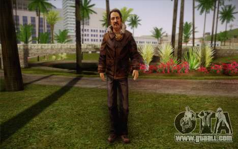 William Carver из The Walking Dead for GTA San Andreas