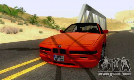 BMW 850CSI 1996 for GTA San Andreas side view