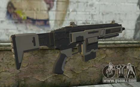 NS-11A Assault Rifle from Planetside 2 for GTA San Andreas second screenshot
