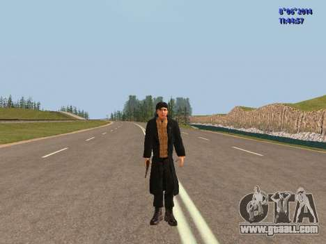 Danila from the movie Brother for GTA San Andreas second screenshot