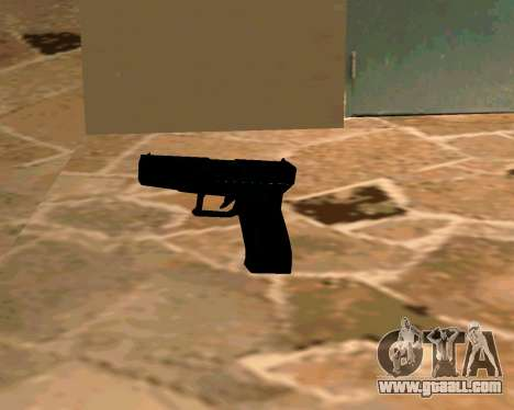 Glock из Cutscene for GTA San Andreas fifth screenshot