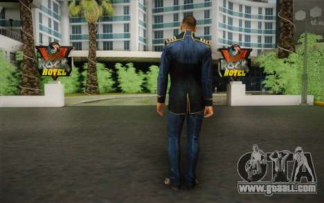 Captain David Anderson из Mass Effect series for GTA San Andreas second screenshot