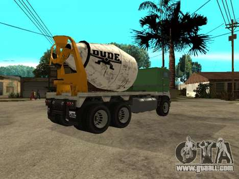 Cement carrier of GTA 4 for GTA San Andreas right view