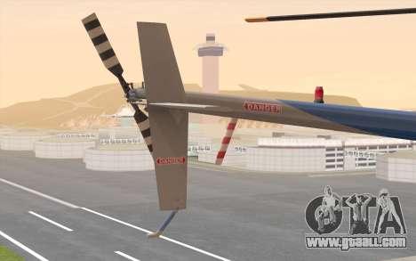 Robinson R22 for GTA San Andreas right view
