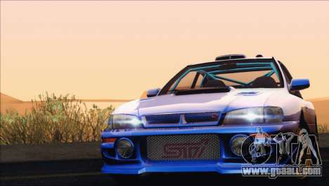 Subaru Impreza 22B STi 1998 for GTA San Andreas back view
