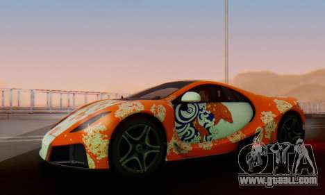 GTA Spano 2014 IVF for GTA San Andreas wheels