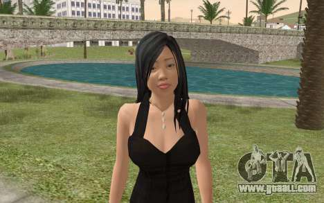 Casual Girl for GTA San Andreas third screenshot