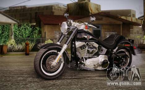 Harley-Davidson Fat Boy Lo 2010 for GTA San Andreas