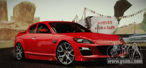 Mazda RX-8 Spirit R 2012 for GTA San Andreas