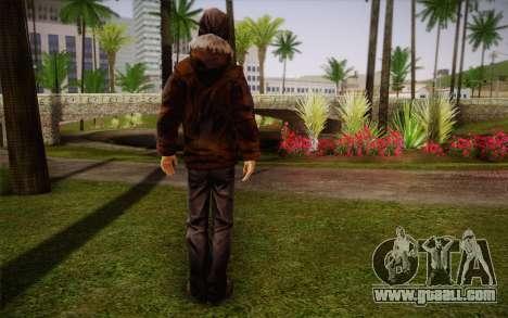 William Carver из The Walking Dead for GTA San Andreas second screenshot