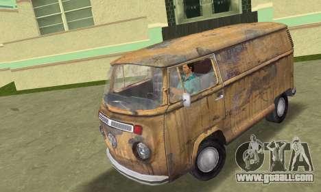 Volkswagen T2 Super Rust for GTA Vice City