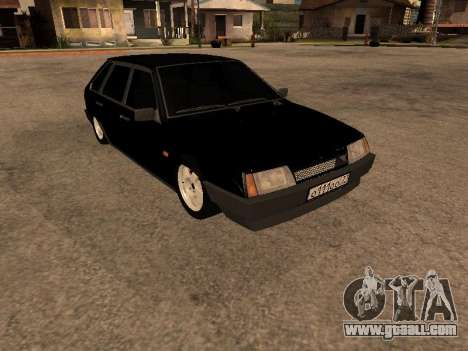 VAZ 2109 Bandit V 1.0 for GTA San Andreas back left view