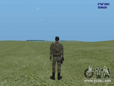 USSR Special Forces for GTA San Andreas second screenshot