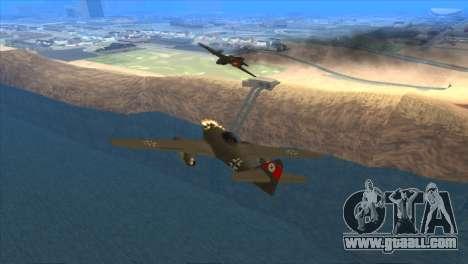 Messerschmitt Me.262 Schwalbe for GTA San Andreas right view
