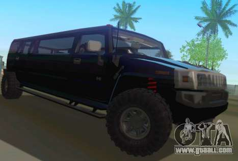 Hummer H2 Limousine for GTA San Andreas